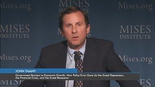 getlinkyoutube.com-Government Barriers to Economic Growth | John Tamny