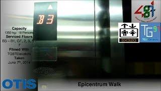 getlinkyoutube.com-Otis Gen2 Scenic Lifts at Epicentrum Walk, Jakarta (Retake 2)