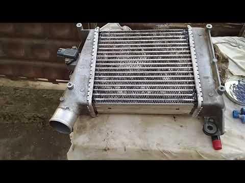 Ниссан Навара D22. Ремонт интеркуллера.
