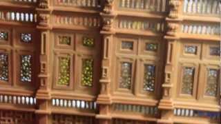 getlinkyoutube.com-Mini tornio proxxon wooden miniatures
