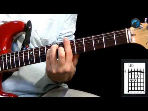 Aula T�cnica para Iniciantes - C.A.G.E.D - Shape E (aula de guitarra)