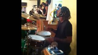 "getlinkyoutube.com-Devon ""Stixx"" Taylor (Beasting on Drums"""