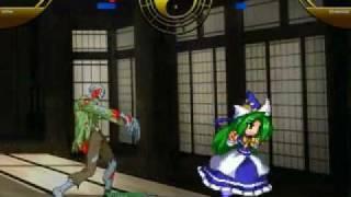 getlinkyoutube.com-Mugen Battle: Mima vs. Biohazard Zombies