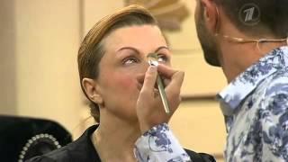getlinkyoutube.com-Возрастной макияж в программе Модный Приговор, 07/11/2012
