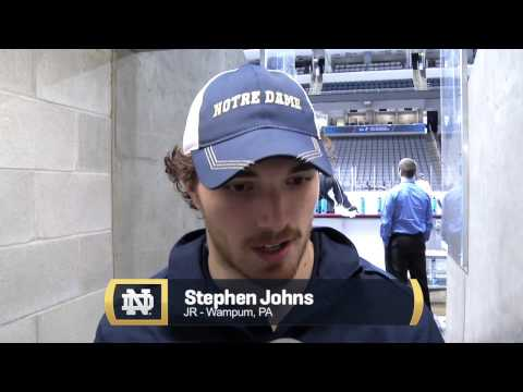 NCAA Regionals, Day 1 - Notre Dame Hockey