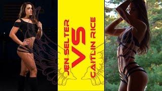 getlinkyoutube.com-[ Jen Selter VS Caitlin Rice ] Choose Your Favorite Angel !!!