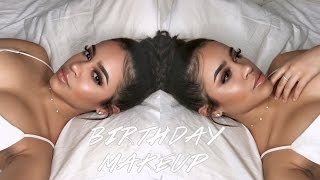 My Sultry & Glam Birthday Makeup Look! | Maria Bethany