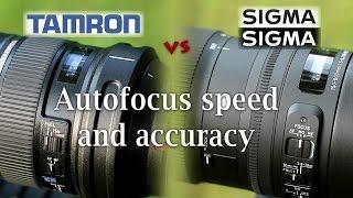 Tamron 150-600 VC vs Sigma 150-600 C:  Autofocus Performance