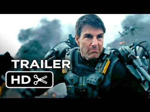 Edge Of Tomorrow Official Trailer #1 (2014) - Tom Cruise, Em