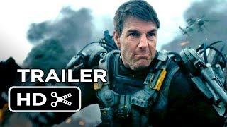 Edge Of Tomorrow Official Trailer #1 (2014) - Tom Cruise, Emily Blunt Movie HD