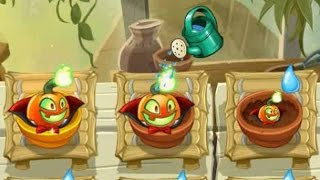 getlinkyoutube.com-Plants vs Zombies 2 - Jack O' Lantern in Zen Garden - 10/21/2015 (October 21st)