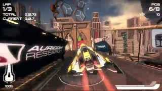 getlinkyoutube.com-How well does WipEout 2048 play on PS TV?