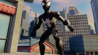 getlinkyoutube.com-Disney Infinity 2.0 - Alien Symbiote Spider-Man Free Roam Gameplay (Power Disc)