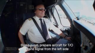 getlinkyoutube.com-Pilotseye.tv - Lufthansa Airbus A380 Departure and Take Off [English Subtitles]