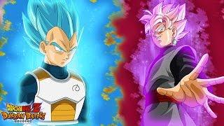 getlinkyoutube.com-Super Saiyan Rose Goku Black vs Super Saiyan Blue Vegeta! [BOSS EVENT] | Dragon Ball Z Dokkan Battle