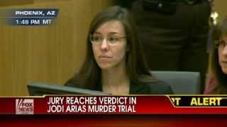 getlinkyoutube.com-Watch Jodi Arias' reaction as guilty verdict is read