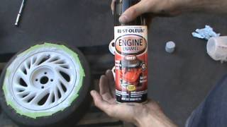 getlinkyoutube.com-How To Paint your Car Truck and SUV Rims