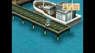 getlinkyoutube.com-Harvest Moon (Back To Nature): 2 Ikan Legendaris Terakhir & Julukan Gelar Sebagai Raja Pemancing