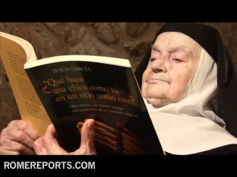 Sister Teresita  103 years old  world's longest serving recluse