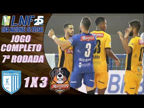 JOGO COMPLETO: Brasília Futsal 1 x 3 Magnus - 7ª Rodada LNF 2020 (16/09/2020)