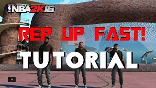 getlinkyoutube.com-Nba2k16 My Park How To Rep Up Fast!!! Tutorial