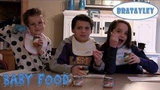 getlinkyoutube.com-Baby Food Challenge (WK 162) | Bratayley