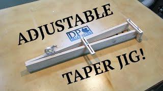 getlinkyoutube.com-Make It - Adjustable Taper Jig