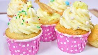 getlinkyoutube.com-เค้กกล้วยหอม - คัพเค้กกล้วยหอม Banana Cake