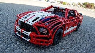 getlinkyoutube.com-LEGO Ford Mustang Shelby GT500, FULL REMOTE CONTROLLED! by Sheepo