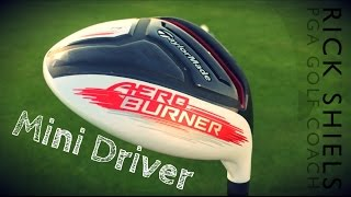 getlinkyoutube.com-TaylorMade AeroBurner Mini Driver Review