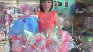 getlinkyoutube.com-canasta recordatorios / bolos para XV años/ bodas/bautizo/primera comunion