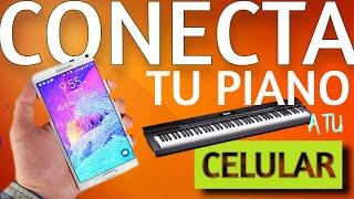 Conecta tu Piano a tu Celular!!!! Android