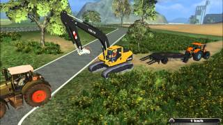 getlinkyoutube.com-depannage fendt tomber a l'eau farming simulator 2011