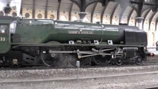 46233 Duchess of Sutherland at York.
