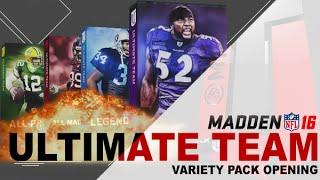 getlinkyoutube.com-MUT 16 | All Madden, All Pro, Legends & Gamechanger Pack Opening | Elites Everywhere