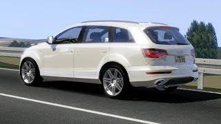 getlinkyoutube.com-Audi Q7 V12 TDi drive (Links) - Racer: free game