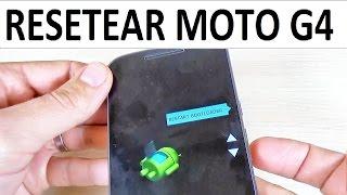 getlinkyoutube.com-Como Resetear/Formatear Lenovo Motorola Moto G4, Play & Plus