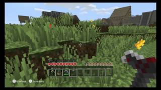 getlinkyoutube.com-Minecraft: Wii U Edition - Skyrim Adventure Mode Gameplay Footage (Direct-Feed)