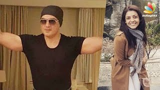 getlinkyoutube.com-Ajith Kumar's latest look from his Thala 57 shooting goes viral | Kajal Agarwal