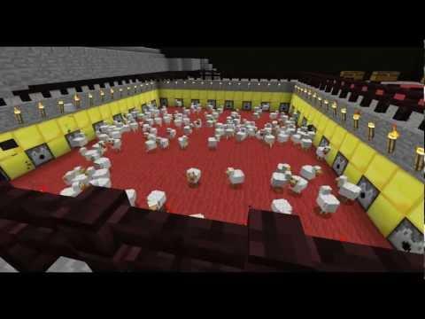 Minecraft Timelapse - Cap 3 El Matadero De Pollos