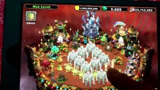 getlinkyoutube.com-New HOOLA MONSTER ON EARTH ISLAND !!!! My Singing Monsters !!!