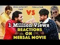 Thala Ajith Fans Reaction On Mersal Movie | Thala Fans Vs Thalapathy Fans | Funny Fight Part 8