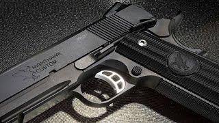 getlinkyoutube.com-Most Realistic Replica Ever – RWA Nighthawk Custom GRP Steel GBB Pistol- RedWolf Airsoft RWTV