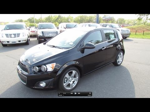 2012 Chevrolet Sonic Turbo LTZ Hatchback 6-spd Start Up, Exhaust, and In Depth Review
