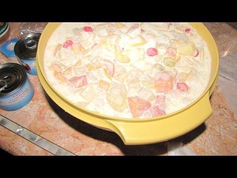 Fruit Salad  dessert - Filipino Style