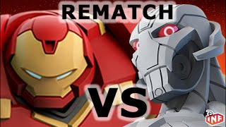 getlinkyoutube.com-Hulkbuster vs Ultron REMATCH sarlacc pit arena fight Disney Infinity toy box