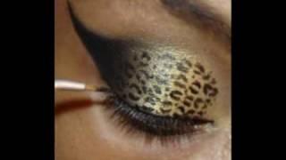 getlinkyoutube.com-Classy Leopard Eyes Tutorial