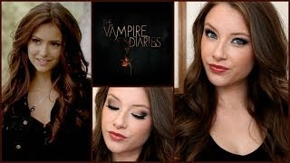 getlinkyoutube.com-The Vampire Diaries- Katherine Pierce Makeup & Hair Tutorial! | Kelly Nelson