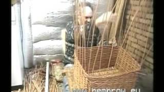 getlinkyoutube.com-David Hembrow, Basketmaker. Making a large bicycle basket.