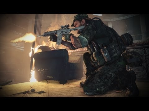 EA Medal of Honor Warfighter Official Gameplay 1 Trailer English (HD) -fNQFig_258A